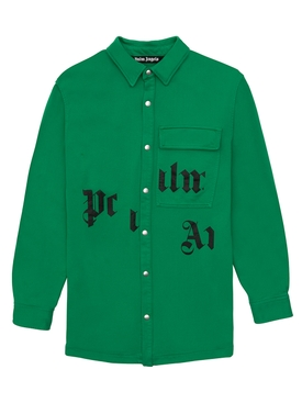 x NBA Broken Logo Shirt GREEN BLACK