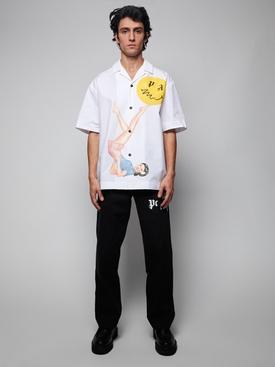 Juggler pin up bowling shirt