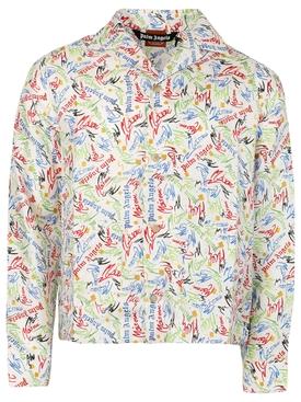 X Missoni Scribble Pajama Shirt Multicolor