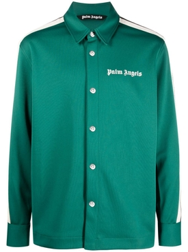 TRACK SHIRT FOREST GREEN