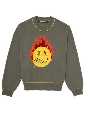 Burning head sweater