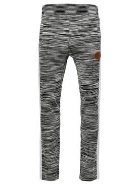 X Missoni Knit Track Pants Grey Melange
