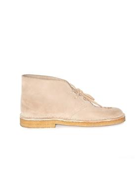 x Clarks Logo desert boots SAND