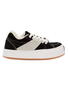 SNOW LOW-TOP SNEAKER BLACK/WHITE