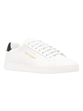 New tennis low-top sneakers, WHITE AND BLACK