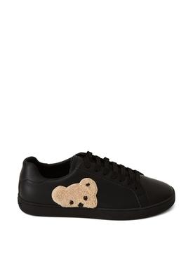 TEDDY BEAR LOW-TOP SNEAKER BLACK