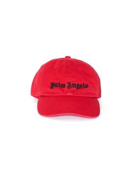Classic gothic logo cap RED/BLACK