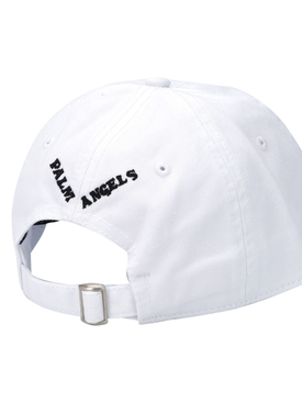 Exotic woman baseball cap WHITE/BLACK