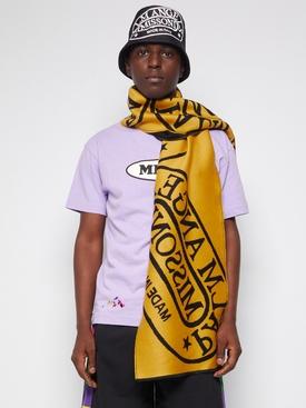 X Missoni Heritage Scarf Black Yellow