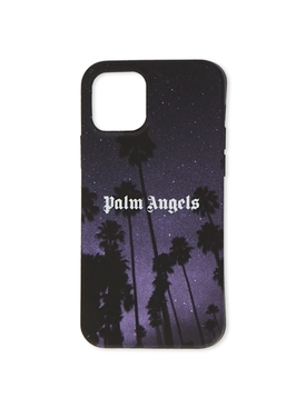 Stars & Palm iPhone Case Pro 12 Black black