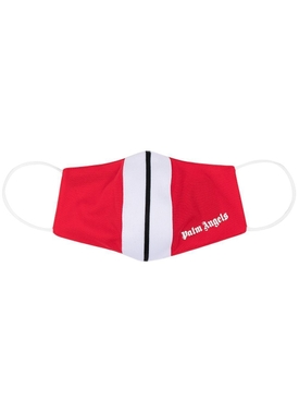Classic track mask RED AND WHITE