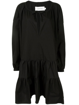 Oversized Smock Dress, Black