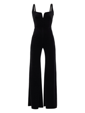 Velvet Eclipse jumpsuit, black