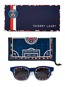 x Paris Saint-Germain Navy Crystal Sunglasses