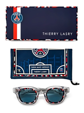 x Paris Saint-Germain Translucent Grey Crystal Sunglasses