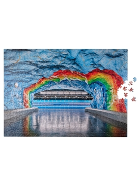 SUBWAY ART RAINBOW PUZZLE