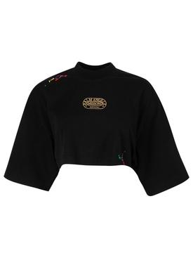 X Missoni Heritage Cropped T-shirt