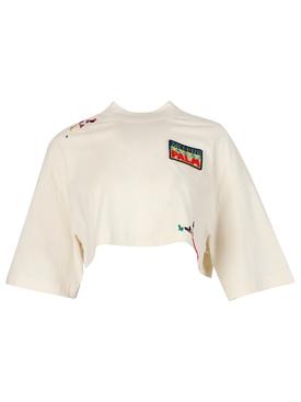 X Missoni Desert Cropped T-shirt