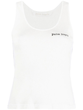 CLASSIC LOGO TANK TOP, WHITE AND BLACK