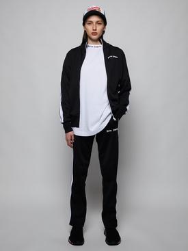 CLASSIC TRACK JACKET, BLACK WHITE