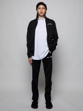 CLASSIC TRACK PANTS, BLACK WHITE