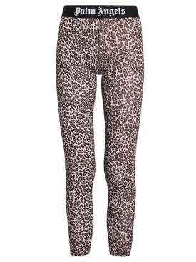 LEOPARD PRINT LEGGING BROWN AND WHITE