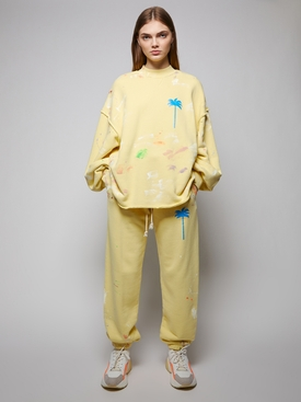 PXP Painted Sweatpant, Baby Yellow