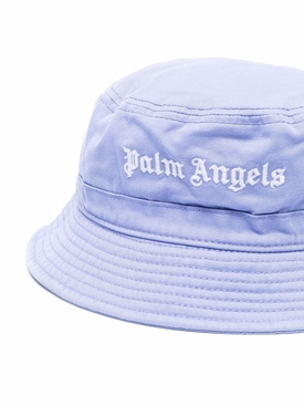 CLASSIC BUCKET HAT Lilac and White