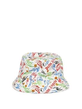 X Missoni Scribble Bucket Hat Multicolor