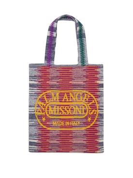 X Missoni Knit Shopper Multicolor