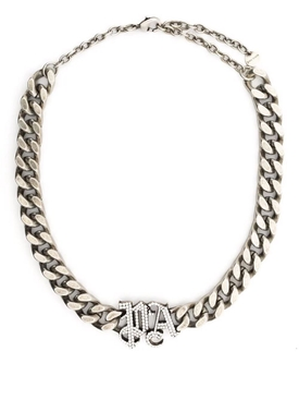 PA Chainlink Necklace Black and Silver