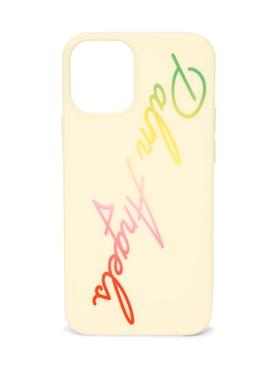 Miami Logo iPhone 12 Mini Case, Off-White