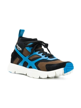 Valentino Garavani panelled sneakers MULTICOLOR
