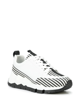Street Life low-top sneakers White and Black