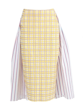 Rosie Assoulin - Party In The Back Multicolored Skirt - Women