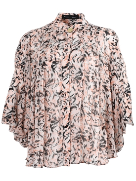 Proenza Schouler - Pink Abstract Print Blouse - Women