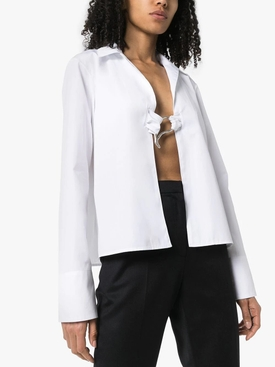 Gwyneth Open Poplin Blouse