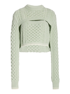 Thousand in One Ways Sweater MINT