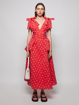 Rough-led Around the Edges Dress Red