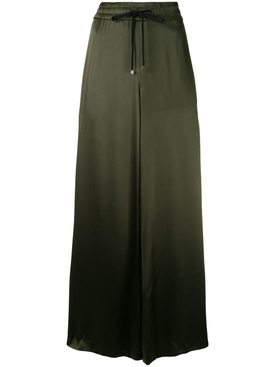 Army Green Wide Leg Pants