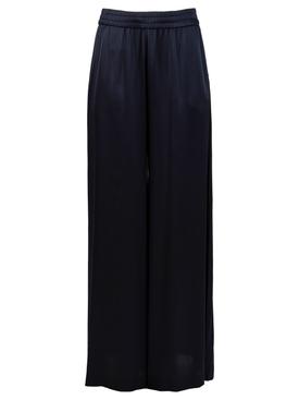 Wide Leg Pant Navy Blue