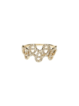 9K Yellow Gold Tatouage Ring