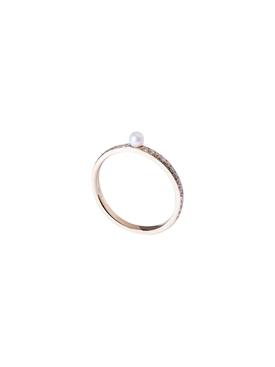Pearl Pavé Ring