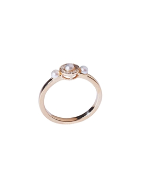 14K Yellow Gold Mignonne Ring