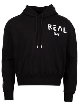 Logo Hooded Sweatshirt Black