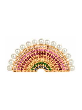 RAINBOW RING WITH PEARLS