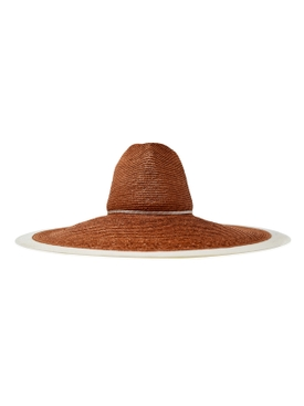 Alberta Terracotta Straw Hat