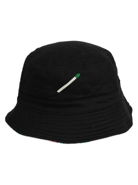 Reversible Bucket Hat, Black