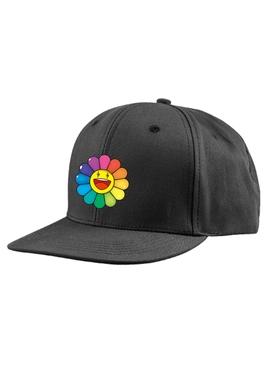 RAINBOW FLOWER HAT