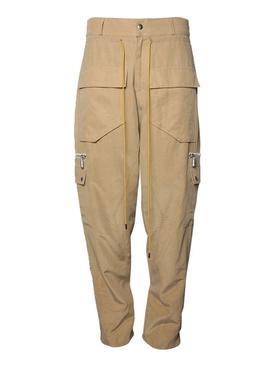 Tan classic cargo pants
